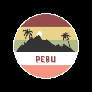 peru Retro Land und Länder
