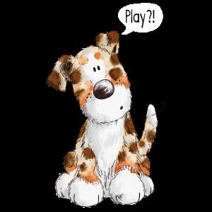 Australian Shepherd Play - Aussie - Geschenk - Dog