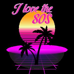 I love the 80s Retro Shirt