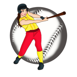 Baseball | Baseball Spielerin