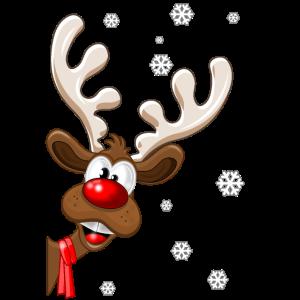 Weihnachten Rentier Rudolph - Weihnachten Rentier