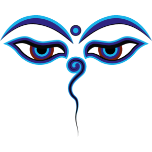 Buddhas Augen