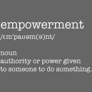 empowerment Sweatshirt black