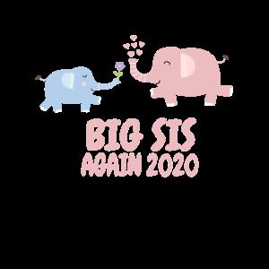 Elefant Schwester Geschwister Geschenkidee