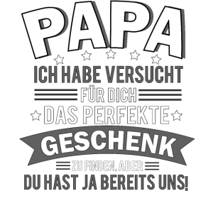 Geschenk Papa