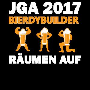 Bierdybuilder   jga 2017 räumen auf