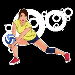 Volleyball | Volleyballerin | Volleyball-Spielerin