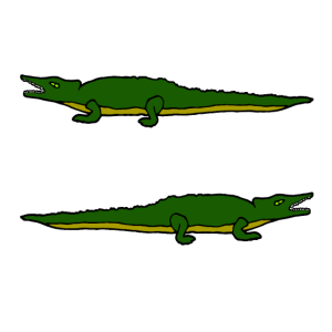 Krokodile, Alligatoren, Comic, Reptilien, Raubtier