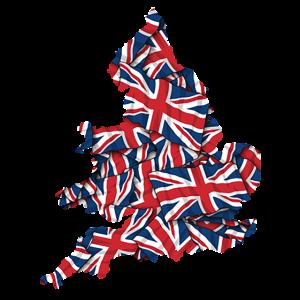 England-Karten-Flaggen-Stolz-Spaß-Geschenke für Männer und Frauen