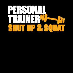 Funny Personal Trainer Design Persönlicher Trainer