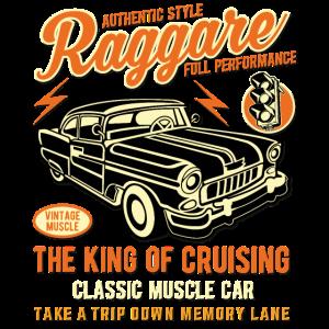 Raggare T Shirt King of Cruising