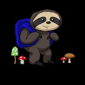 Sloth Rucksack Fautier Exkurs Wanderung