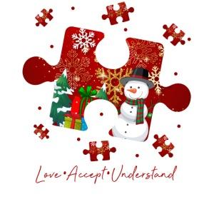 Love Accept Understand Autism Awareness