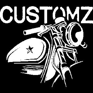 custom bikes cafe racer symbol