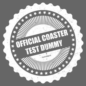 Mannequin officiel de test de montagnes russes