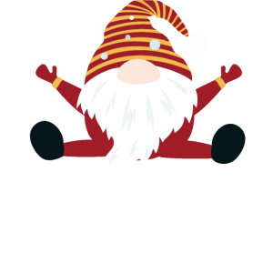 Gnome skandinavischen Elf Weihnachten