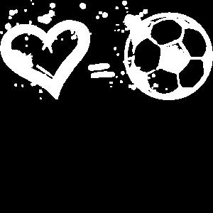 Ich Liebe Fussball Spruch Herz Fussballfan Tore