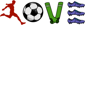 Ich Liebe Fussball Herz Fussballfan Fussballer