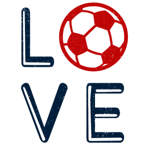 Ich Liebe Fussball Fussballer Herz Fussballfan