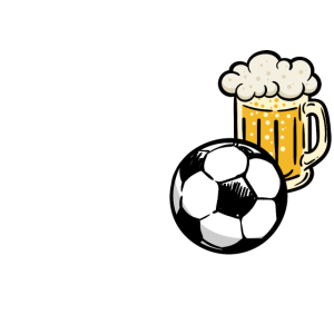 Fussball Bier Trinken Fussballfan Lustig Spruch