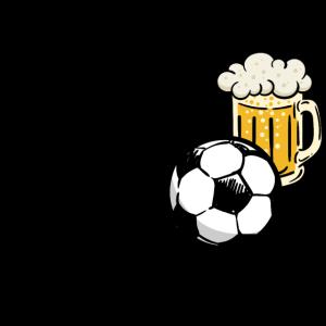 Fussball Bier Alkohol Fussballfan Lustig Sprüche