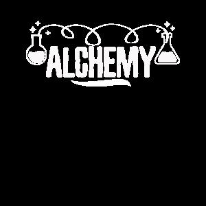 Cooles Alchimie-einfaches Art-Alchimistengeschenk