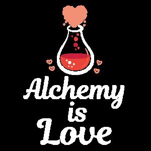 Niedliche Alchimie ist Liebes-Alchimistengeschenk