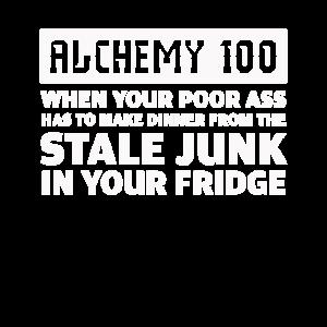Lustiges Alchimie-Lebensmittel, das Alchimistengeschenk kocht