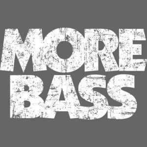 More Bass (Vintage/Weiß) Bassist Bassisten