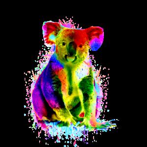 Koala Bär Bunt Australien Geschenk