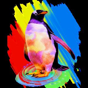 Pinguin Eisvogel Vogel Kaiserpinguin Geschenk