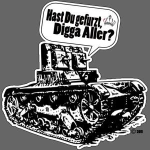 In den Panzer gefurzt