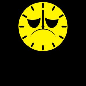 Uhr Uhr Uhrzeitprime Müdigkeit
