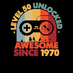 50. Geburtstag - 1970 Vintage Classic 70s Geschenk