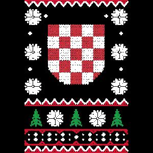 Ugly Xmas Croatia Grb