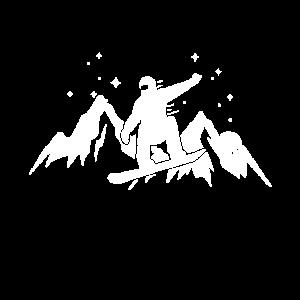 Snowboarding Athlet Boarden
