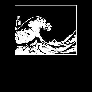 Die große Welle vor Kanagawa illustration