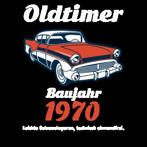 50 Geburtstag Oldtimer Baujahr 1970 Geschenk