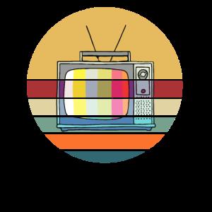 Retro TV Fernseher Vintage 70er 80er 90er Jahre