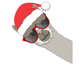 Weihnachtslama Lama Alpaka Weihnachten Lustig
