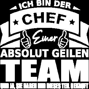 Chef Shirt • Stolzer Chef Geburtstag Geschenk