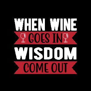 When Wine