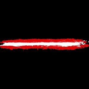 Oesterreich Flagge Pinselstriche Streifen