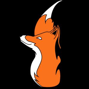 Fuchs Feuer und Flamme