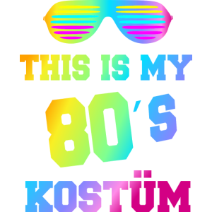 80er Jahre Kostüm Outfit Mottoparty Party