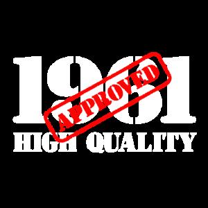 1961 / Geburtstag / Geburtstag 1961 / Qualität
