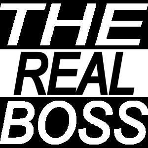 the boss - the real boss Geschenk Geschenkidee