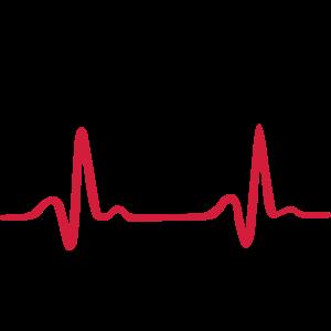 Baum mit Herzschlag, Natur EKG