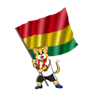 Bolivien Fan Katze