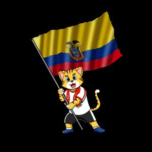Ecuador Fan Katze